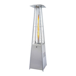 Napoleon - Napoleon Bellagio Patio Heater - The Bellagio Patio Torch is a 360 degree art form that can be enjoyed 365 days of the year. The Bellagio provides cozy mood lighting from an attractive single, luminous 4 foot flame. The uniquely designed patio torch meets the demands of today's modern lifestyle and is a perfect accent for pools, decks and outdoor rooms.