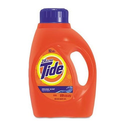 Procter And Gamble - Tide Ultra Liquid Laundry Detergent (Case of 6) - Tide Ultra Liquid Laundry Detergent, 50-ounce Bottle, 6 per Carton. High-powered, grease-cutting liquid laundry detergent formula removes tough institutional stains. Tide detergent makes pretreating laundry easy.