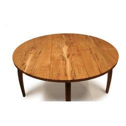 Custom Tables | Drop Leaf Table - Drop leaf table, shown fully extended.