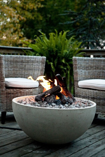 Contemporary Fire Pits by InsideOut Patio Furniture