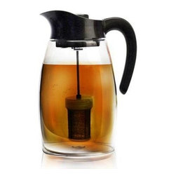 Epoca - Flavor It Tea Pitcher 2.9 Qts. - Premium Flavor It Pitcher 2.9 qts - Enjoy hot or iced tea, either just tea or natural fruit infused tea as well as fruit infused water that you make right in the pitcher with this Flavor It 2.9 Qt. Pitcher from Epoca's Premium collection. The Flavor It Pitcher is a do it yourself, take it anywhere, healthy pitcher. Pitcher comes with one tea infuser, one fruit infuser and one chill core.