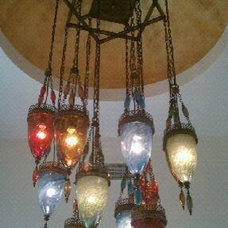 eclectic chandeliers by Lightingsnobs