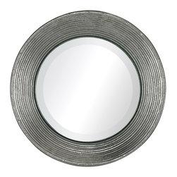 Sterling Industries - Sterling Industries 138-067 La Quinta-Mini Mirror In Hammered Metal Frame - Mirror (1)