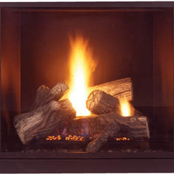 Majestic Products - Majestic MLDV500NSC Onyx Direct Vent Gas Fireplace - The Majestic MLDV500NSC Onyx Direct vent gas fireplace is part of Majestic's full line of products to complete your fireplace or stove. The MLDV500NSC model from Majestic's Onyx series gives you a clean face design for a spacious viewing area, along with custom style accessories to help you create a unique look for any room, and an exclusive full-featured command center and touchscreen. This model features natural gas operation for easy installation, and it has a heating capacity of up to 1,550 square feet of room. Majestic has been serving in the production of quality fireplaces, stoves, log sets, and outdoor accessories for over 50 years, and offer a wide range of beautiful styles, sizes, and trims.