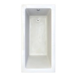 """American Standard - American Standard 2940.002-D0.020 5/8 Inch Profile / White Studio - Product Features:Fully covered under a lifetime warranty; including free lifetime in-home serviceManufactured and assembled in CanadaSoaking tub; basic and easy to installDrop-in installation; tub is dropped into a pre-cut deck or islandConstructed of ultra-durable fiberglass-reinforced acrylicSurfaced with the industry s best stain-blocking high-gloss finishTub proportions and contour designed by industry leading ergonomics engineersSlip-resistant flooring - textured finishing technique appliedSelf-leveling base structural support cuts installation time and costsTub waste (drain) is not included - this will be presented upon adding to cart, with multiple available finishesTechnologies / Benefits:Lifetime Warranty with In-Home Service: This tub is covered under the industry's only Limited Lifetime Warranty with free lifetime in-home service. This speaks volumes to the quality of American Standard tubs.Deep Soak: This patented overflow system works with an exclusive drain, positioned significantly higher within the bathing well. With water depths reaching 2"""" to 4"""" deeper than other bathtubs, Deep Soak tubs allow for better full-body submergence.Self-Leveling Base: A major time-saver during installation, this tub's self-leveling base eliminates the need to fret over a perfectly level base structural support… high-density compressible pads do the work for you, compensating for any imperfections. DIY'ers and contractors both appreciate this feature.Zero Edge: Definitively modern, the Zero Edge exclusive low-profile tub lip is perfect for undermount installations – or a clean, 'barely there' drop-in appearance.Premium Acrylic: Luxury American Standard tubs all use premium acrylic for a reason: it ret"""