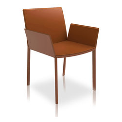 MODLOFT - MODLOFT Sanctuary Dining Chair with Arms - Measures 21 x 22 x 32. Available in multiple colors. Made in Brazil. Imported.