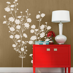 Summer Days Vinyl Wall Decal - Brighten up any room with flowers. Personalize your Summer Days Flower Vinyl Wall Decal from Wallternatives with vibrant summer colors on kitchen, bedroom, or living room walls.