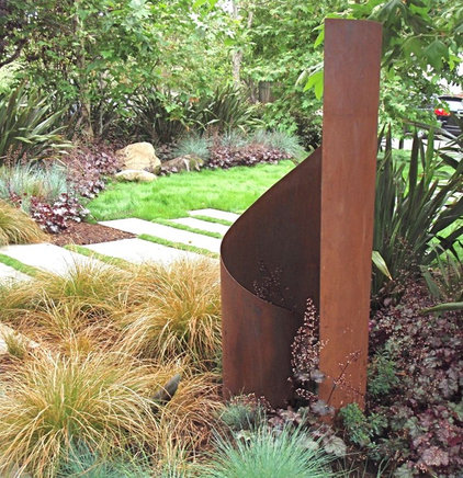 Modern Garden Statues And Yard Art by TerraSculpture