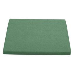 Regatta Sunbrella® Bottle Green Rocking Chair Cushion - Optional chic cushion in rich bottle green is fade- and mildew-resistant Sunbrella® acrylic.