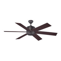 Savoy House - Savoy House 60-820-613 Velocity 6 Blade Ceiling Fan - Features: