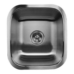 Nantucket sinks nantucket sink ns1816 rectangle for Odd shaped kitchen sinks