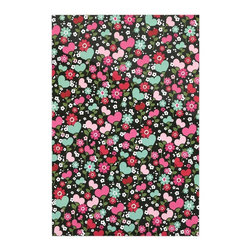 """Kess InHouse - Heidi Jennings """"Love is Growing"""" Pink Green Metal Luxe Panel (16"""" x 20"""") - Our luxe KESS InHouse art panels are the perfect addition to your super fab living room, dining room, bedroom or bathroom. Heck, we have customers that have them in their sunrooms. These items are the art equivalent to flat screens. They offer a bright splash of color in a sleek and elegant way. They are available in square and rectangle sizes. Comes with a shadow mount for an even sleeker finish. By infusing the dyes of the artwork directly onto specially coated metal panels, the artwork is extremely durable and will showcase the exceptional detail. Use them together to make large art installations or showcase them individually. Our KESS InHouse Art Panels will jump off your walls. We can't wait to see what our interior design savvy clients will come up with next."""