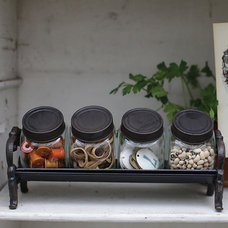 Rustic Food Containers And Storage by Iron Accents