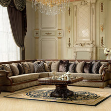Traditional Sectional Sofas by Alcove Decor and Furniture