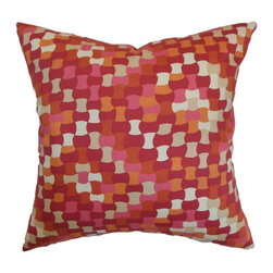 Pillow Collection - The Pillow Collection Gaya Geometric Pillow - P18-D-21044-AQUAMARINE-C100 - Shop for Pillows from Hayneedle.com! No matter how you fared in geometry class the contemporary look of The Pillow Collection Gaya Geometric Pillow is sure to get you an A+ in style. Made of 100% high-quality cotton this cheery square pillow features a plush 95/5 feather/down insert for incredible softness. The tonal geometric print adds a mod appeal to your home. Available in a variety of bright vibrant color options you can get the look that suits your room perfectly.About The Pillow CollectionIdentical twin brothers Adam and Kyle started The Pillow Collection with a simple objective. They wanted to create an extensive selection of beautiful and affordable throw pillows. Their father is a renowned interior designer and they developed a deep appreciation of style from him. They hand select all fabrics to find the perfect cottons linens damasks and silks in a variety of colors patterns and designs. Standard features include hidden full-length zippers and luxurious high polyester fiber or down blended inserts. At The Pillow Collection they know that a throw pillow makes a room.