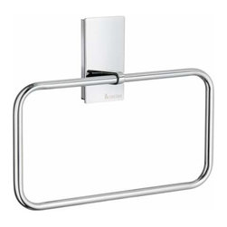 Smedbo - Smedbo Pool Towel Ring, 8 Inch X 4 3/4 Inch - Smedbo Pool Towel Ring, 8 Inch X 4 3/4 Inch