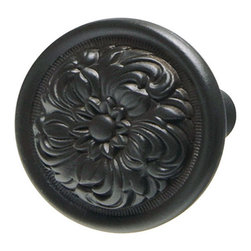 Hafele - Hafele 122.43.300 Oil Rubbed Bronze Cabinet Knobs - Hafele item number 122.43.300 is a beautifully finished Oil Rubbed Bronze Cabinet Knob.