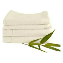 Bamboo Hand Towel in Ivory