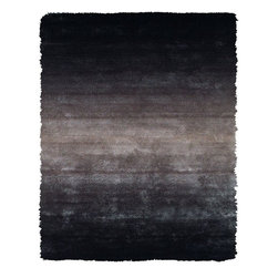 Feizy - Contemporary Indoor/Outdoor Area Rug: Feizy Rugs Indochine Gray 7 ft. 6 in. x 9 - Shop for Flooring at The Home Depot. The Indochine collection is wonderfully plush and luxurious shag that has been table tufted of art silk. The sheen that these rugs possess makes them a playful addition to more casual contemporary settings. Decorating your space with an Indochine rug instantly creates a setting of warmth and comfort. Color: Gray.