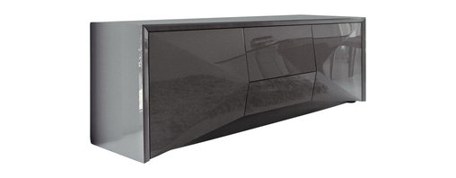 Rossetto - Sapphire Buffet in Grey - Features:
