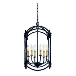 Hastings 6 Light Pendant