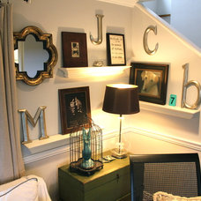 Eclectic Family Room by Cindi Carter