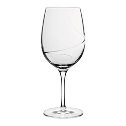 Luigi Bormioli - Luigi Bormioli Aero 16.25 oz. Goblets - Set of 6 Multicolor - 10936/01 - Shop for Drinkware from Hayneedle.com! A large beverage capacity and elegant design make these Luigi Bormioli Aero 16.25 oz. Goblets - Set of 6 a smart sophisticated addition to your bar and glassware collection. Able to hold more than one pint of liquid wine lovers will particularly enjoy the glasses design features which include a spiral optic on the inside of the bowl that allows for fast aeration while also enhancing fruity aromas and flavors. The aero glassware was made using lead-free glass that is break resistant and dishwasher safe. Made in Italy the blown glasses stand just over eight inches tall.About Luigi BormioliFounded in 1946 by Mr. Luigi Bormioli himself the Bormioli family continues Luigi s mission of commitment to great design traditional Italian craftsmanship and new innovative glassmaking technology to produce the world s most beautiful and durable glassware. Producers of wine glasses tumblers decanters and everything in between Luigi Bormioli is located in Parma Italy halfway between Bologna and Milan and is influenced by the region s reputation for art music and higher learning. Bormioli s glassmaking construction rivals fine crystal in its appearance but is 100-percent lead-free affordable and widely available.