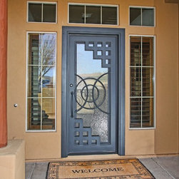 Iron Entry Doors - First Impression Security Doors