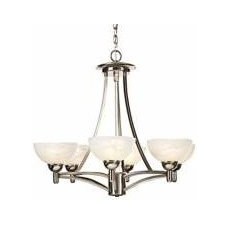 Kichler Lacey Antique Pewter Collection 5-Light Chandelier - #R2886 | LampsPlus.