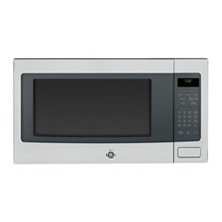 GE - GE Profile PEB7226SFSS Stainless Steel Countertop Microwave Oven - The Profile PEB7226SFSS countertop microwave oven from GE features 1200 watts and 10 power levels. Sensor cooking controls complete this stainless steel microwave oven.