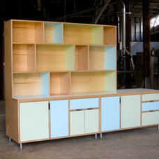 Modern Storage Units And Cabinets by Kerf Design