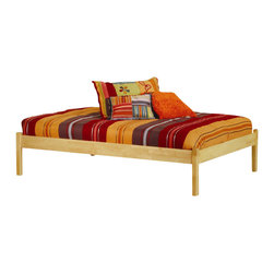 Atlantic Furniture - Atlantic Furniture Concord Natural Maple Daybed with Open Footrail - Atlantic Furniture - Daybeds - AP8121005 - The Concord is a contemporary daybed with a clean design andample selection of colors. The Concord can coordinate and adapt to anybedroom or any Atlantic Furniture case goods. Set it up as a daybed oras a more traditional platform bed.Add under bed drawers for additional storage or a trundle for extracompany. Perfected with Atlantic Furniture's high build Five Step Finishing Process onEco-friendly hardwood the Concord Daybed is an ideal addition to anybedroom.Features: