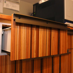 Modern Panels. Kitchen Cabinets on Houzz