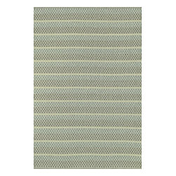 "Loloi Rugs - Flat Weave Terra Indoor/Outdoor Rug TERRTE-03LJ00 - 9'-3"" X 13' - Bring all the indoor appeal of a flat weave - the durability, the versatility, and the texture- to your outdoor space with our Terra Collection. Hand woven in India, Terra comes in great colors like sage, steel, and graphite made to match with today's indoor and outdoor furnishings. And because Terra is made with 100% polypropylene, it can withstand regular sunshine and rain."