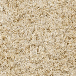 Surya - Plush Casper 2'x3' Rectangle Vanilla-Winter White Area Rug - The Casper area rug Collection offers an affordable assortment of Plush stylings. Casper features a blend of natural Vanilla-Winter White color. Handmade of 100% Polyester the Casper Collection is an intriguing compliment to any decor.