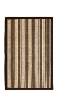Anji Mountain - Hamptons Driftwood Bamboo Rug - 4' x 6' - Bamboo rugs have been a traditional floor covering in the Far East for centuries. They add a touch of organic, practical elegance to any space. Our bamboo rugs are made of the finest quality, sustainably harvested bamboo in the world for supreme durability. Kiln-dried bamboo is machine-planed and sanded for a smooth finish. This classic collection offers a variety of intriguing designs and brilliant colors to choose from.