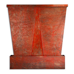 Water Wall Biz, LLC - SHADOW Double Panel Wall Water Fountain - The Shadow creates a modern take on tranquility over the movement and sound of water undertones. The Shadow collection provides the tranquility without splashing over a beautiful natural slate style.