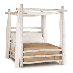 Rustic Canopy Beds #4090 by La Lune Collection - Rustic Canopy Bed #4090 by La Lune Collection