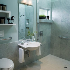 modern bathroom by Harrell Remodeling