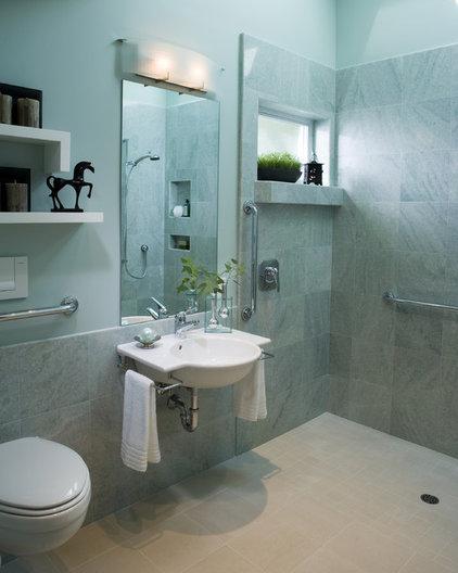 modern bathroom by Harrell Remodeling