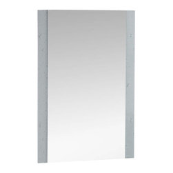 Decor Wonderland Mirrors - Decor Wonderland Starlight Frameless Wall Mirror - The Starlight Frameless Wall Mirror sparkles and shines in any room. This ultra modern frameless wall mirror features hand made v grooving to create the sparkle sure to brighten up any room small or large.