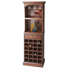 traditional wine racks by Hayneedle