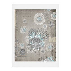 DENY Designs - DENY Designs Iveta Abolina French Blue Art Print - Finally an affordable wall art option! Order one statement print or live on the edge and dream up an entire gallery wall. And whether you frame it or hang it as-is, your walls will be big on inspiration while being kind on your pocketbook.