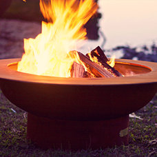 Modern Fire Pits by authenTEAK Outdoor Living