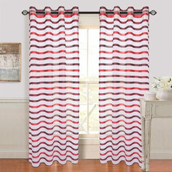 Other Brands - Lavish Home Sonya Grommet Curtain Panel - 63-84Q292W - Shop for Curtains and Drapes from Hayneedle.com! Add a festive look to your window with the Lavish Home Sonya Grommet Curtain Panel. This single curtain is made of 100% polyester material and is available in size and color options to match your decor. Fun stripes make it a versatile and decorative accent to any setting. It s also machine-washable for easy care. Grommet-hole hangers are easy to use and offer a modern appeal.About Trademark Global Inc.Located in Lorain Ohio Trademark Global offers a vast selection of items for your home and lifestyle. Whether you need automotive products collectibles electronics general merchandise home and garden items home decor housewares outdoor supplies sporting goods tools or toys Trademark Global has it at a price you can afford. Decor items and so much more are the hallmark of this company.
