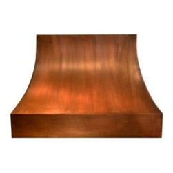 Air Pro 48W in. Basic Curve Copper Wall Mounted Range Hood - About VMIVMI is based in Redmond, Washington. They manufacturer and distribute kitchen ventilation products including range hoods, blowers, hood fans, wood hoods, copper hoods, and more. VMI has one of the largest selections of blower packs and color options in the industry. Their staff has over 25 years experience in kitchen ventilation products. VMI strives for timeless designs and innovative kitchen ventilation systems carefully attuned to the needs of their clients because they want to contribute to lasting, memorable kitchen designs.