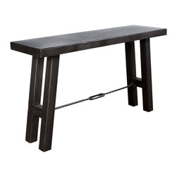 Iron Turnbuckle Console Table - Product Features: