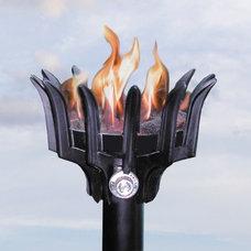 Bali Malumai Natural Gas Tiki Torch - Permanent Mount