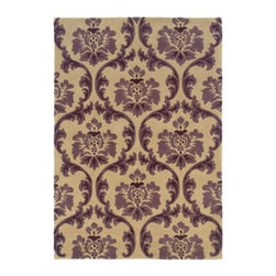 Linon Trio Area Rug - Cream / Purple - The Linon Trio Area Rug - Cream / Purple is a smart and stylish addition to any home. Perfect for any transitional space, this handsome area rug features a timeless design with a classic cream hue. The ornate purple scrollwork brings a sophisticated grace to any room in your home. Crafted from hand-tufted polyester material, this gorgeous area rug features cotton and latex backing that won't damage floors. Choose from a variety of size options for the area rug that best complements your home.Sizes offered in this rug:Following are all sizes for this rug. Please note that some may be currently unavailable due to inventory. Also please note that rug sizes may vary by up to 4 inches in dimensions listed.Dimensions:1.83 x 2.83 ft. rectangle5 x 7 ft. rectangle8 x 10 ft. rectangleAbout Linon Home DecorLinon Home Decor Products has established a reputation in the market for providing the best trend-right products at the right price, while offering excellent quality, style and functional furnishings to every room in the home. Linon offers a broad selection of furnishings for today's discriminating and demanding retail environments. They offer outstanding values for every room; a total commitment of quality, service and value that is unsurpassed in their industry.