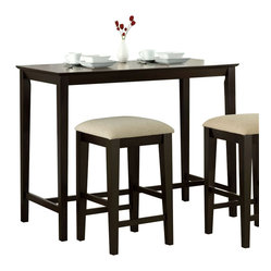 Monarch Specialties 48x24 Counter Height Kitchen Table